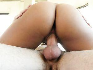 Masturbating Latina Would Rather Fuck A Hard Dick