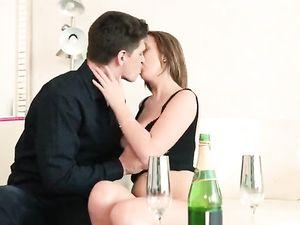Breathtaking Big Tits On His Fuckable Girlfriend