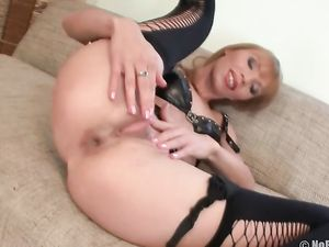 Toys And Fingers Stretching Out This Slutty Asshole