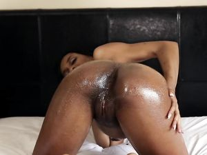 Busting His Nut On A Slutty Black Hardcore Slut