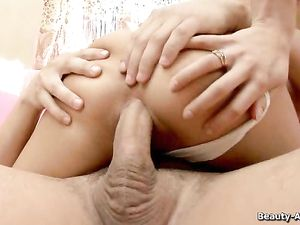 Hardcore Panty Sex Makes Her Teenage Cunt So Wet