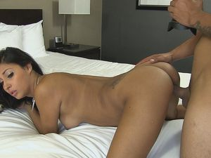Perky Boobs Temptress Whores Out Her Pussy To Him