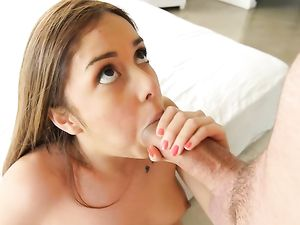 Tiny Girl In Braces And A Big Cock Have Hot Sex