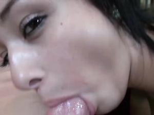 Brunette Bikini Girl Enjoys Sensational Penetration