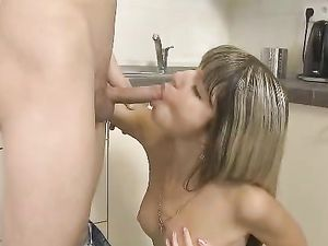 Tiny 18 Year Old Is His Personal Slut Today