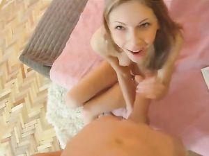 Lithe European Teen Filled In Hardcore POV Porn