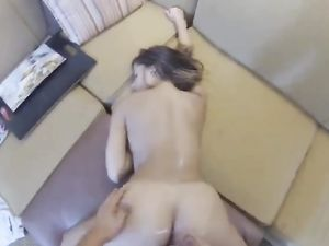 Doggy Style Fucking For A Hot Brunette In POV