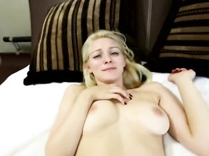 Hotel Room POV Blowjob And Fucking A Shaved Cunt