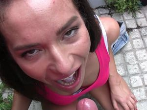 Money Maker Of A Teen Gets Filled By A Dong In POV