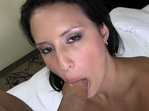 Young Dark Haired Goddess Banging In A Hotel Room
