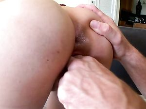 Cumshot Drips Down The Chest Of Kimberly Costa