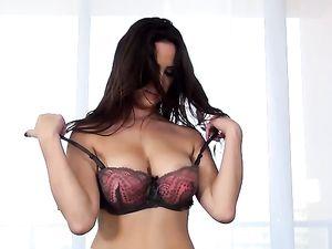 Streaks Of Hot Cum Across Her Pretty Face