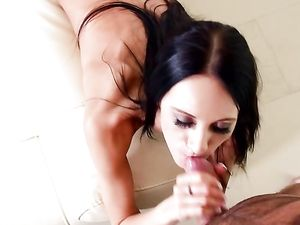 Hard Cock Replaces Her Toy And Makes The Girl Cum