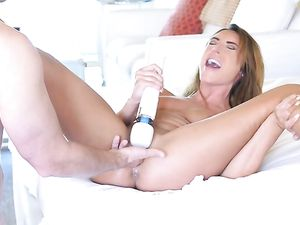 Christiana Cinn Uses Her Dick Sucking Lips On Him