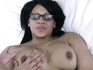 Black Amateur Agrees To A Big Creampie Inside Her