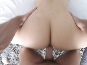 Flexible Dame Taking Dick In Hot POV Porn