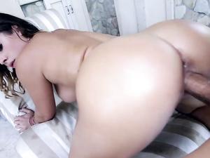Curvy Cock Whore Keisha Grey Banged From Behind