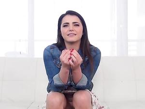Fingering Kylie Quinn In The Car Before Her Casting Scene