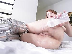 Amazing Cock Teasing Babe Finally Fucks Him