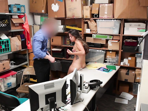Slut Caught Shoplifting Fucks Instead Of Getting Arrested