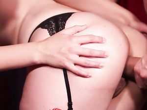 Beauties In Stockings Have A Wild Orgy