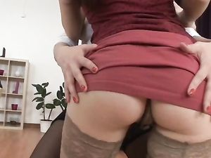 Sluts Take Turns Getting Fucked In The Ass
