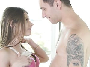 Alice March Blows Her Man After A Day At Work