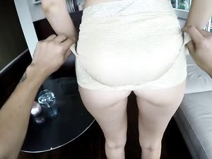 Couch Fucking Gets Her A Load Of Warm Cum